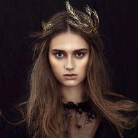 Vintage Altın Tiara Kafa Barok Taç Kristal İnci Tiaras Taçlar Hairband Düğün Saç Takı Gelin Aksesuarları Headpieces Yaprak