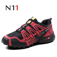 N11  2018 New Solomon Series Men's Casual Shoes Men Fashion Lightweight Breathable Casual Shoes Large Size 48 high quality