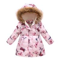 Giacche invernali per ragazze cappotti in cotone con cappuccio con cappuccio baby girl giaccacoat abbigliamento per bambini manica lunga a maniche lunghe tuta sportiva