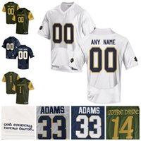 36646e26f Cheap NCAA Notre Dame Fighting Irish Mens Womens Kids High quality College  Jersey 100% stitched Custom Any Name Any No. Football Jerseys