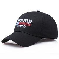 Trump 2020 Make America Great снова Donald Trump Вышивка бейсболки Trucker шляпы Бейсболки Взрослые Спорт на открытом воздухе Hat