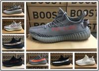 new styles c4972 62b91 Adidas yeezy supreme 350 2018 350 V2 B37572 Semi Frozen Yellow B37572 Azul  Tinte Gris AH2203