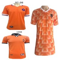 Retro Version 1988 European Cup Classic Vintage Netherlands ...