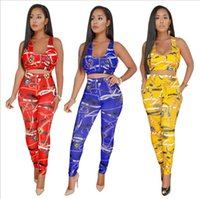 Summer Traditional African Clothing long pants 2 Piece Set W...