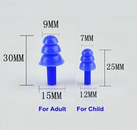 20Pairs / lot Soft Silicone Bouchons d'oreilles en silicone Sound Isolation Éviches imperméables pour enfant Adulte Anti-Bruit pour la baignade Diving Réduction du bruit