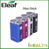 Otantik Eleaf mini istick 10 W Pil Değişken Watt Gerilim Ile 1050 mAh mini istick Pil OLED Ekran Basit Paketi