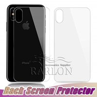 Screen Protector HD Clear Toughened 9H Hardness Back Cover a...