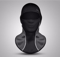 Winter Cycling Cap Thermal Fleece Snowboard Shield Hat Cold ...