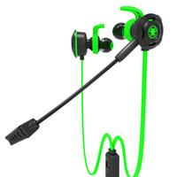 Plextone G30 Cuffie da gioco per PC con microfono In Ear Cuffie stereo a cancellazione di rumore con microfono per telefono Computer Notebook