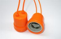 Weiche Keramik Keramik Lampe E27 Gewinde wasserdicht Lampenfassungen Aufhängung Wasserdichte Lampenfassung E27 Sockelkappe