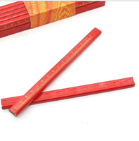 جودة عالية واسعة الخشب أقلام الإبداعية علامات القلم رسم أقلام المهندس أدوات قلم رصاص نجار الإبداعية القرطاسية قلم رصاص