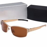 Recém-chegados. 2018 Marca Designer Homem Óculos De Sol Caixa De Luxo UV400  Condução Óculos De Armação De 1ead301feb