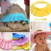 Solid Safe Shampoo Shower Bathing Bath Protect Soft Cap Hat ...