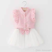 Girl Dresses Kids Suits 2018 Cute Dresses Summer Princess Cl...