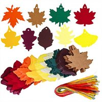 180pcs Maple Leaf Die Cuts Outs With Holes Hang Tags Strings...