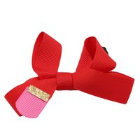 Sweet Lady' s Hair Clip Handmade Solid Ribbon Pencil Hai...