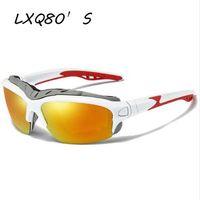 LXQ80 2018 famosa marca designer homens e mulheres novos esportes ao ar livre óculos de sol polarizados à prova de vento Oculus UV400 1161
