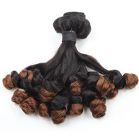 Wholesale 100A Funmi Hair Ombre T1B 4 Bunchy Rose Curl 3 Bun...