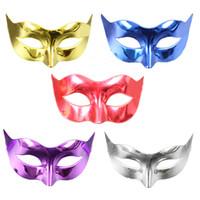 Promoção Vendendo Máscara Do Partido Com Máscara De Glitter Ouro Venetian Unisex Sparkle Masquerade Máscara Venetian Mardi Gras Máscaras Masquerade