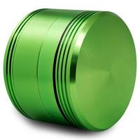 Formax420 2,5 Zoll Matrix Aluminium Grinder 4 Teile Multi Farben erhältlich Herb Grinder Kostenloser Versand