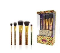 Новый горячий бренд кисти для макияжа набор 5 шт. / Установить высокопроизводительные щетки Blusher Teeshadow Word Action Makeup Tools DHL доставка