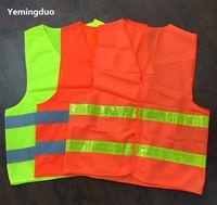 2018 odblaskowe odzież odzież robotnik czyste sanitarny ruch drogowy ostrzeżenie o wysokich lekkich kamizelkach odbijających
