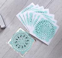 منزل يمكن التخلص منها منع تسريب الشعر بركة تصفية تصفية الحمام المجاري تصفية الشعر ملصقا سهلة لتنظيف 10CM 2 الألوان