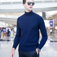 2017 Winter Thickening Pullovers Sweaters Male Turtleneck Co...