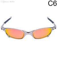Commercio all'ingrosso -Original Romeo uomini polarizzato in bicicletta da sole Aolly Juliet X metallo Sport Equitazione Eyewear Oculos Ciclismo gafas CP003-5