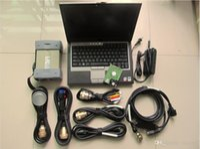 Estrela Diagnóstico Ferramenta Red MB C3 Multiplexer 7 Cabos com HDD D630 Laptop para carro e caminhão