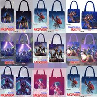 35*40cm Fortnite Cosplay Handbags Teenager Canvas Bag Cartoo...