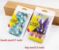 Custom Design Accessori di plastica per imballo di vendita al dettaglio Borse Casi mano Hole Packaged Zipper blocco OPP Bag pacchetto per il telefono cellulare