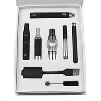 EVOD vaporizzatore Wee serbatoio a secco d'erboristeria Dab Kit Penna 4 in 1 cartucce olio Starter Kit cera Vape Pen EVOD Starter Kit