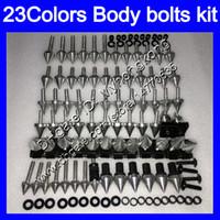 Verkleidungsschrauben Full Screw-Kit für Aprilia RSV1000R 99 00 01 02 RSV1000 R RSV 1000 1999 2000 2001 2002 Körpermuttern Schrauben Nut Bolt Kit 25colors