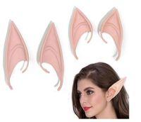Mystérieux Oreilles Elfes fée Accessoires de Cosplay Latex Prothèse Douce Faux Oreille Halloween Masques De Fête Cos Mask