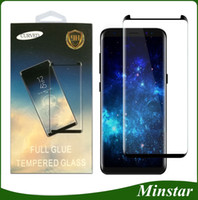 3D Full Glue Whole Cover & Cases Friendly Tempered Glass Pro...