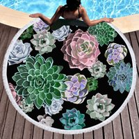 towel round beach towels Factory direct sales Europe and the...