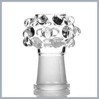 Andere Raucherzubehör Kuppel ist Wulst Clear Glass CC-46 Hersteller 14mm / 18mm schwerer Rundkristall