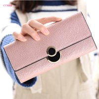 New long section Women Wallets Fashion Hasp PU Leather Walle...