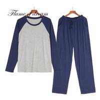 Modal Material Homme Ensembles de pyjamas Hommes Pyjamas Vêtements de nuit Hommes Pyjama Set Pijama De Hombre 1135 Haute qualité pour hommes