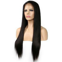 150% Density Lace Front Human Hair Wigs Peruvian Virgin Hair...