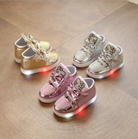 Children' s luminous shoes 2018 spring and autumn flash ...