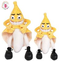1pcs 36cm 55cm New evil banana man funny novelty stuffed plu...