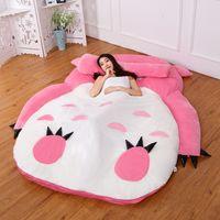HOT anime Totoro Plüsch-Bett mit Polsterung Riesen Couch Doppel Cartoon Tatami Matratze kreative Schlafzimmer Kinder Erwachsene Isomatte DY50342