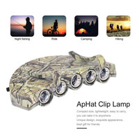 ZK17278102 Clip- On 5LED Headlights Super Bright Mini Hat Cli...