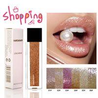 Güzellik Mat sıvı ruj glitter Dudaklar Uzun ömürlü Kaymaz Fincan Büyülü Ruj Pırıltılı Parlaklık Makyaj Lipgloss Bea472