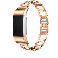 For Fitbit Charge 2 Bands Metal, Replacement Bangle Bracelet...