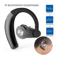 long lasting T9 stereo bluetooth 4. 1 earphone wireless ear- h...