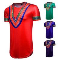 HipHop 짧은 소매 t- 셔츠 크루 넥 브랜드 디자인 셔츠 코 튼 느슨한 민속 사용자 지정 롱 남자 티셔츠 폴로 S-2XL 젊은 패션 의류