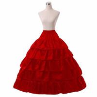 결혼식을위한 새로운 대형 Petticoat 이벤트 공식 웨딩 드레스 화이트 크놀린 신부 액세서리 5 레이어 4 농구 공 가운 underskirt